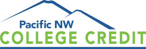 Pacific NW College Credit Logo